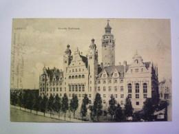 LEIPZIG  :  NEUES RATHAUS   1904    - Leipzig