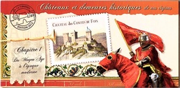 C33 - FRANCE N° BC714 CHATEAUX ET DEMEURES HISTORIQUES - Booklets