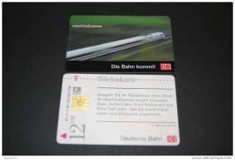 Telefonkarten Gebraucht / DB  Inter City Express / S 15  11.96 /12 DM - Germany