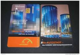 Telefonkarten Gebraucht / Die Autostadt  PD 1.01 / 12 DM - Germany