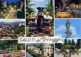 Saluti Da Fiuggi - Frosinone - Formato Grande Viaggiata – E 6 - Frosinone