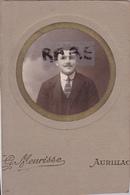 PHOTO ANCIENNE,15,CANTAL,AURILLAC,1900,VIGNERON,PHOTOGRAPHIE DU PHOTOGRAPHE CELEBRE MEURISSE - Places