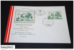 Österreich FDC 1967  Mi. 1251  100  Jahre Akademisches Forststudium In Österreich  ( T - 21 ) - FDC