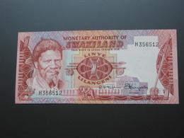 1 Linye Lilangeni 1974 - Monetary Authority Of SWAZILAND **** EN ACHAT IMMEDIAT **** - Swaziland