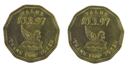 00049 GETTONE JETON TOKEN READER'S DIGEST THANK YOU TOKEN VALUE £13,97 - Unclassified