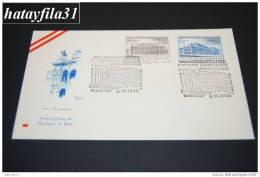Österreich 1955  FDC Mi. 1020 - 1021 Wiedereröffnung Des Burgtheaters Und Der Staatoper WIEN    (T - 15 ) - FDC