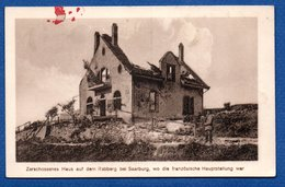 Sarrebourg  -  Maison Détruite Sur Le Rebberg - Sarrebourg