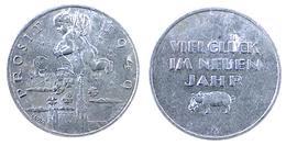 01114 GETTONE JETON TOKEN AUSTRIA GREATING TOKEN LUCKY NEW YEAR 1949 - Tokens & Medals