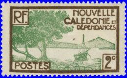 Nouvelle-Calédonie 1928. ~ YT 140/42** - Pointe Des Palétuviers - Ungebraucht