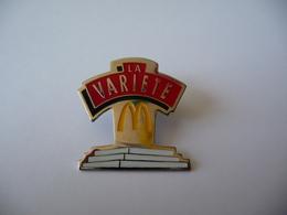 """Pin's MAC DONALD'S """"LA VARIETE"""" - McDonald's"""