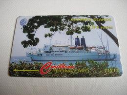 TELECARTE CAYMAN ISLANDS CJFS JAMAICA FIBRE SYSTEM SERIES 131CCIA052930 - Iles Cayman