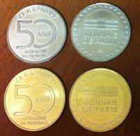 13 BOUCHES DU RHÔNE AUBAGNE LA PAIRE MÉDAILLE MONNAIE DE PARIS 2018 JETON TOKEN MEDALS COINS - Monnaie De Paris