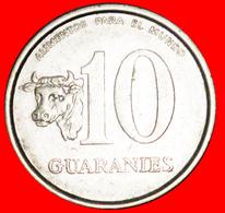 # BRAZIL: PARAGUAY ★ 10 GUARANIES 1978 FAO COW! LOW START ★ NO RESERVE! - Paraguay