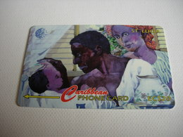 TELECARTE ST LUCIA THE PEOPLE OF ST LUCIA 22CLSB014494 - Sainte Lucie
