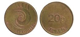 00259 GETTONE JETON TOKEN IRELAND PLAY MACHINE INN PLAY LINMITED 20p Token - Unclassified