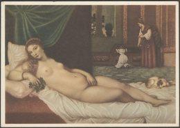 Tiziano, Venere, Galleria Degli Uffizi, Firenze, C.1930 - Vela Cartolina - Paintings