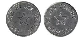 00401 GETTONE JETON TOKEN PLAY MACHINE BON POUR UN JEU GRATUIT - France