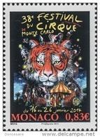 MONACO 2014  - Y.T. N° 2907 - CIRQUE - NEUF ** - Monaco