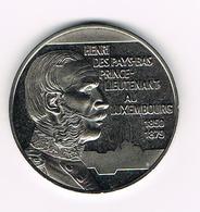 &-  LËTZEBUERG HENRY DES PAYS-BAS LIEUTENANT AU LUXEMBOURG  5 EURO  FANTASIE MUNT 1996 - Luxembourg