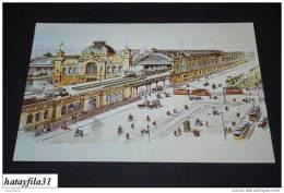 Hauptbahnhof Dresden Um 1898  /      ( 90 ) - Dresden