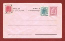 Rohrpost Prag  Brief Zur Pneumatischen Express Zusatzfrankatur, Ungelaufen - Interi Postali