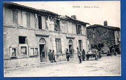 Esnes - Mairie Et Poste - France