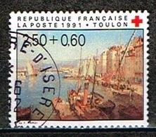FRANCE /Oblitérés/Used/1991 - Au Profit De La Croix Rouge - Usados