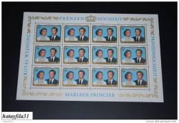 Luxemburg 1981 - Mi. 1036 ** Bogen  / Postfrisch - ( BO - 7 ) - Full Sheets
