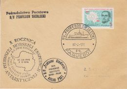 "Poland 1987 Cover Ca Paquebot Profesor Siedlecki"" (39422) - Poolshepen & Ijsbrekers"