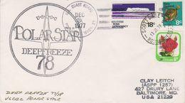 Ross Dependency 1978 Polar Star / Deepfreeze 78 Ca Scott Base  13 Ja 1978 (39423) - Ross Dependency (Nieuw-Zeeland)