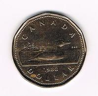 &-  CANADA 1 LOON DOLLAR  1988 - Canada