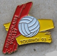 INTERSCOLAIRE VOLLEY - VOLLEYBALL - TOURNOI 93 - GENEVE - SUISSE - BALLON -             (20) - Volleyball