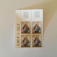 FRANCE 1993 Au Profit De La Croix-Rouge Bloc De 4 Superbe Neuf/MUH YV 2853 - France