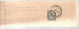 1855   MOSELLE - Bandas Para Periodicos