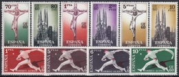 ESPAÑA 1960 Nº 1280/89 SERIE NUEVO PERFECTO - 1951-60 Unused Stamps