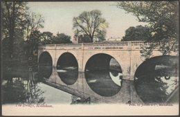 The Bridge, Melksham, Wiltshire, C.1905-10 - Jolliffe & Co Postcard - England