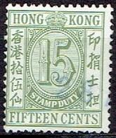 HONG KONG #  DUTY STAMPS - Otros