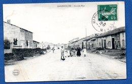 Manheulles  -  Grande Rue - Francia