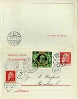 Bayern / Bavaria Ganzsache 1911 K A/01, Gelaufen [080718KIV] - Entiers Postaux