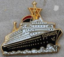 NAVIRE - CORNER - COINDEROUX - PARIS   -      (20) - Boats