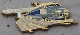 TGV GRIS ET BLEU - TRAIN - WAGON - SNCF - C.E. GEC ALSTHOM - RAIL - ARTHUS BERTRAND - PARIS - FRANCE   -      (20) - TGV