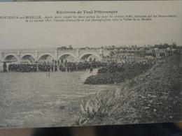BZ - 54 - FONTENOY SUR MOSELLE - Après Avoir Réparé Les Deux Arches Du Pont Du Chemin De Fer, Détruites, Le 22/1/1871 L' - Other Municipalities