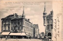 Saint-Nicolas - Rue Prince Albert - Place De La Station - Sint-Niklaas