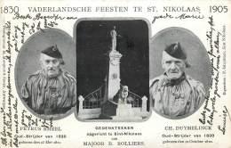 Saint-Nicolas - 1830 - 1905 - Vaderlandsche Feesten Te St. Nikolaas - Sint-Niklaas