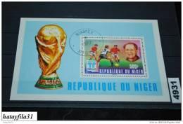 Niger  1977   Block 18   Gestempelt - Nigeria (1961-...)