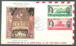 JORDAN - FDC - 4.1.1964 - PAUL VI   - Lot 17465 - Jordanie