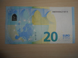 RB !!!  R007  !!! RB !!!  Draghi 20 Euro - EURO