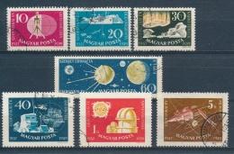 Hongarije/Hungary/Hongrie/Ungarn 1959 Mi: 1571A-1577A (Gebr/used/obl/o)(3553) - Hongarije