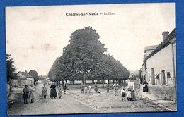 Chälons Sur Vesle  - La Place - France
