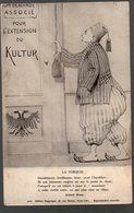 """Carte Postale Anti Allemande 1913 """"on Demande Associé Pour L'extension Du Kultur"""" (PPP13753) - Turkey"""